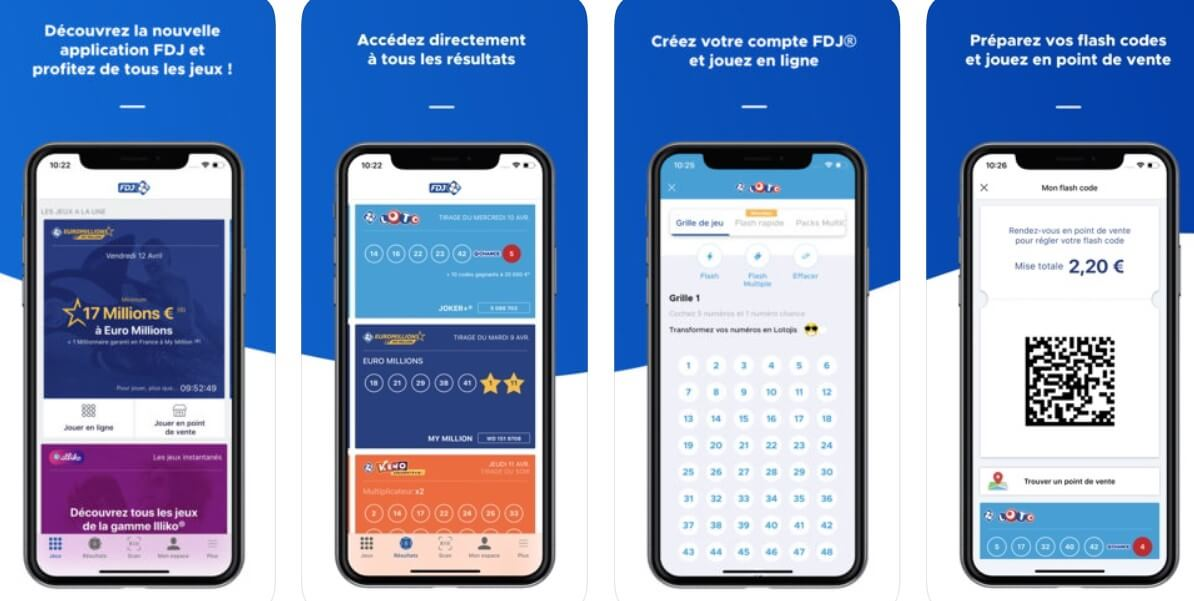 FDJ mobile : comment se procurer l'application mobile ?