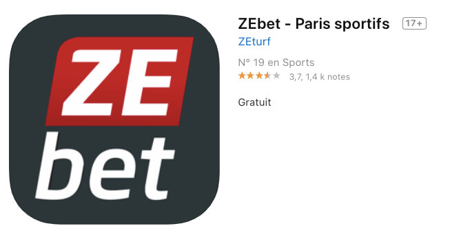 ZEbet application mobile pour tablette et smartphones iOS/Android